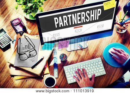 Partnership Connection Cooperation Motivation Partner Concept