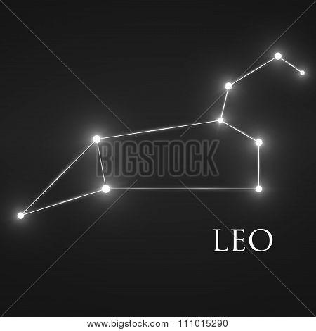 Constellation Leo Zodiac Sign