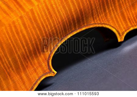 violin part on black
