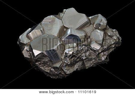 Pyrit Mineral Stein