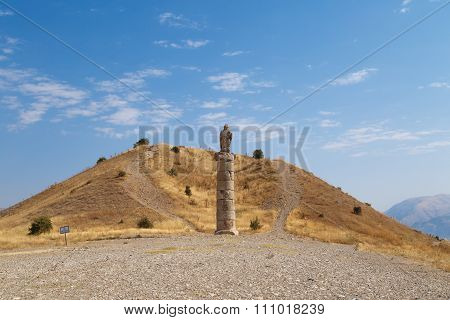 Karakus Tumulusu In Nemrut National Park