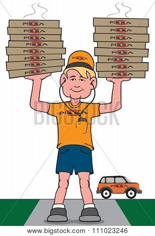 Pizza Stacks
