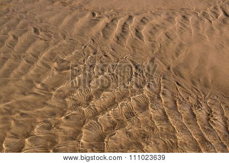 Sea Water And Sand Structure