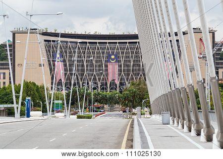 Putrajaya, Malaysia - Circa September 2015: Ministry Of Finance In Putrajaya