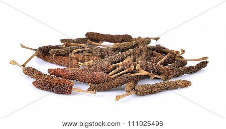 Longpepper On White Background