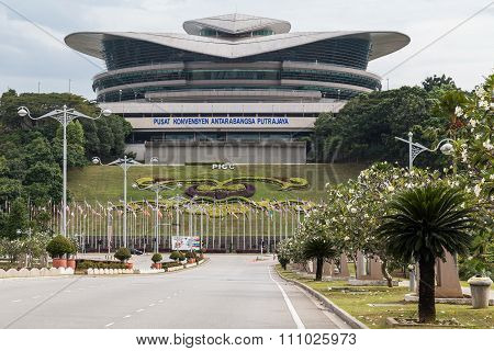 Putrajaya, Malaysia - Circa September 2015: Putrajaya Convention  Centre