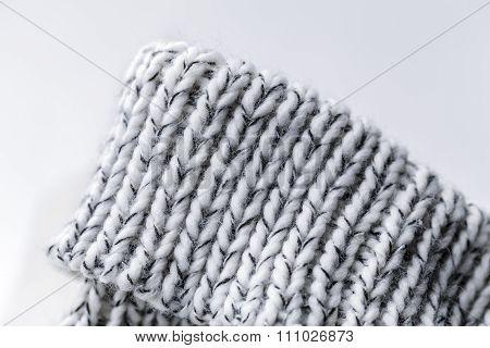 Wool Fabric White