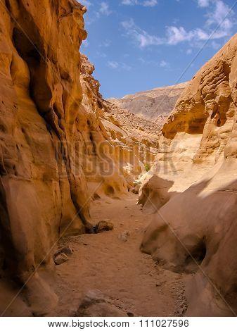 Egypt Nuweiba Colored Canyon