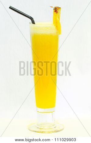 Pineapple Juice With Pineapple