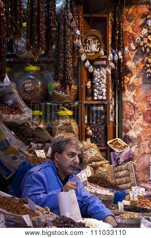 Istanbul Spice Market Vendor