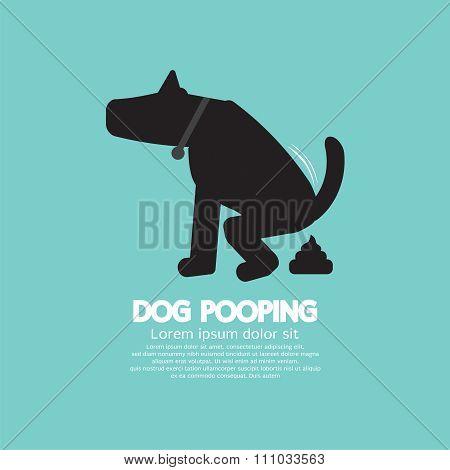 Black Symbol Dog Poop.