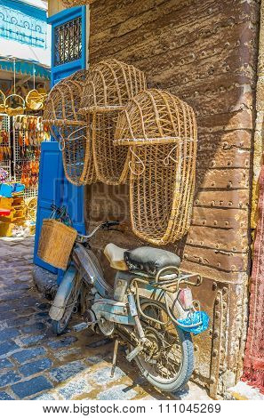 The Wicker Baby Carriage