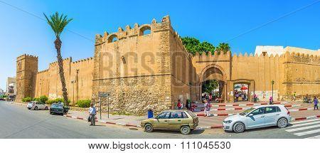 Panorama Of Bab El Kasbah Gates