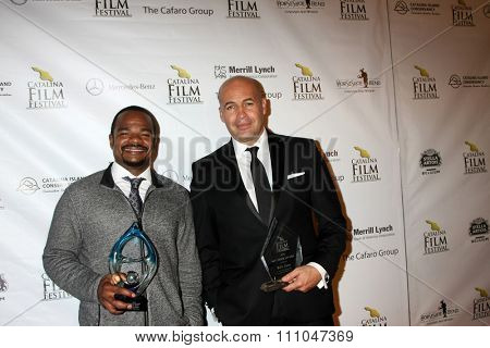 LOS ANGELES - SEP 25:  F. Gary Gray, BIlly Zane at the Catalina Film Festival Friday Evening Gala at the Avalon Theater on September 25, 2015 in Avalon, CA