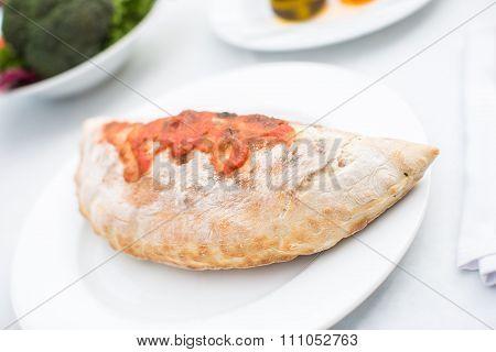 Italian Bread Calzone Restaurant