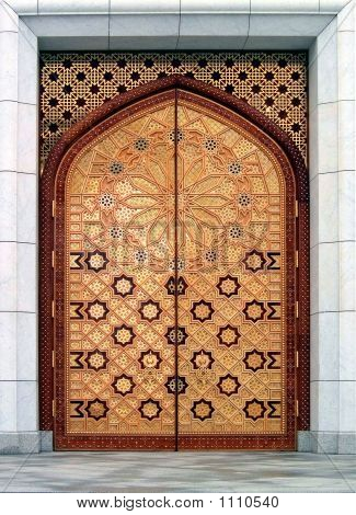 Door (The Kiptchak Mosque In Turkmenistan)