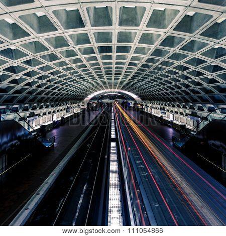 Washington Dc Metro Station