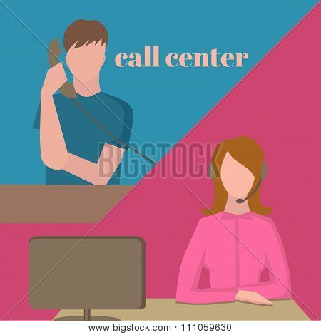 Support Service, Call Center