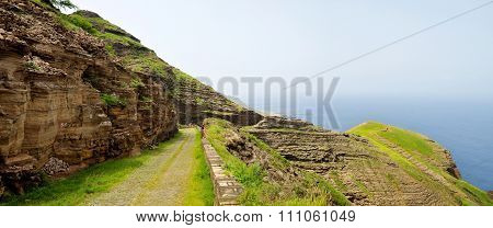High Altitude Cobblestone Road