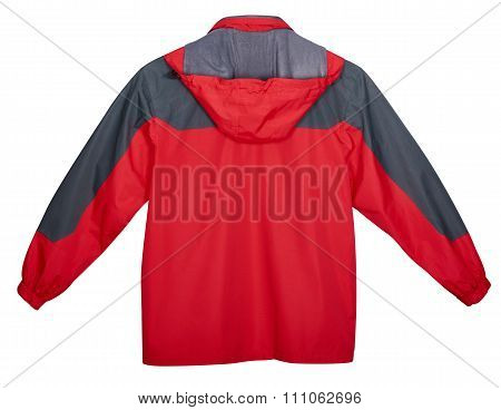 Red Jacket Outdoors, Back View