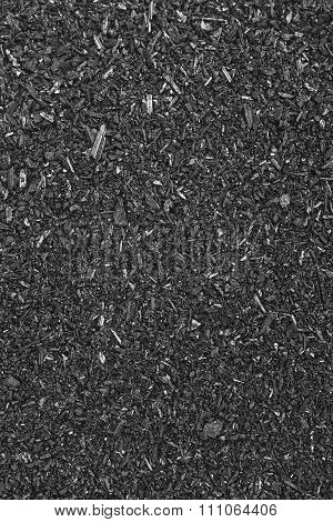 Mineral Background Detail In Black And White. Vertical