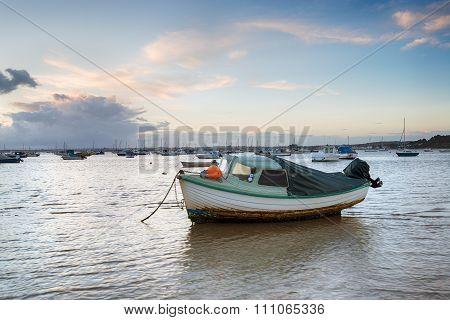 Boats At Sandbanks In Poole