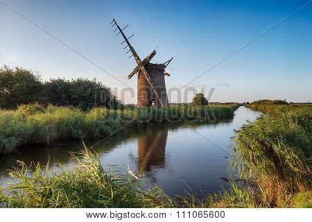 An Old Mill On The Norfolk Broads