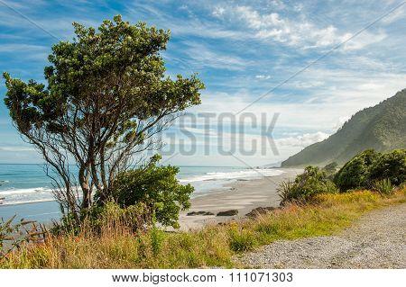 Tasman sea, South Island, New Zealand