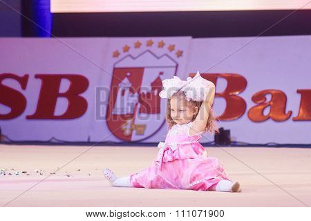 Minsk, Belarus December 05: Horuzhaya Anastasiya From ' Gomel' Participate With 'doll&#3