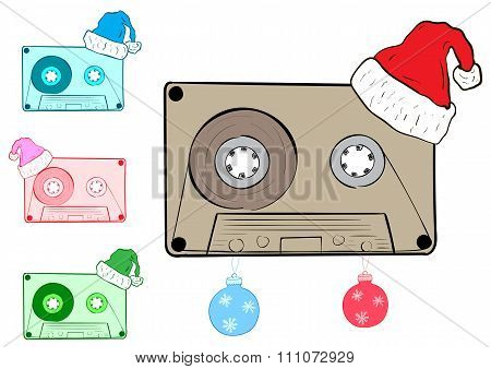 Clipart with Christmas cartridges