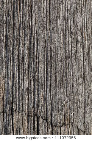 Abstract cracked wood