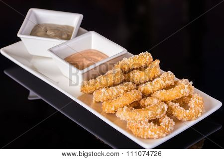 Deep Fried Onion Rings