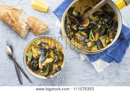 Mussel Bouillabaisse