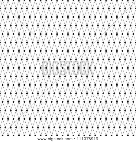 Seamless Line Art Pattern Vector Background