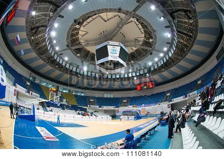 MOSCOW -- DECEMBER 4, 2014:  Palace of Sports