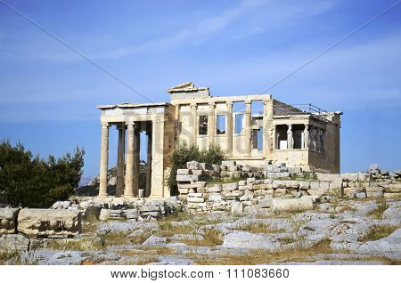 Erechtheion temple in Greece