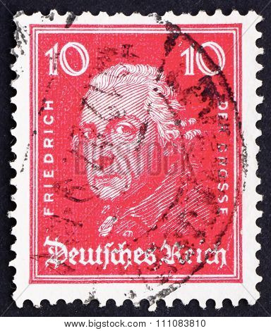 Postage Stamp Germany 1926 Frederick The Great