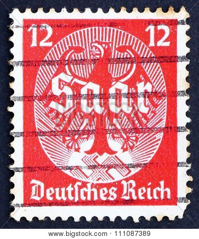 Postage Stamp Germany 1934 Saar Plebiscite