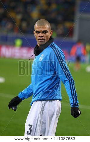 Pepe Of Real Madrid