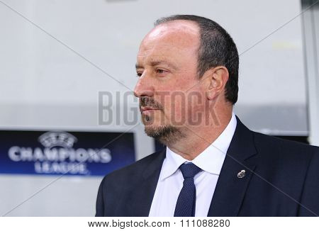 Real Madrid Coach Rafael Benítez