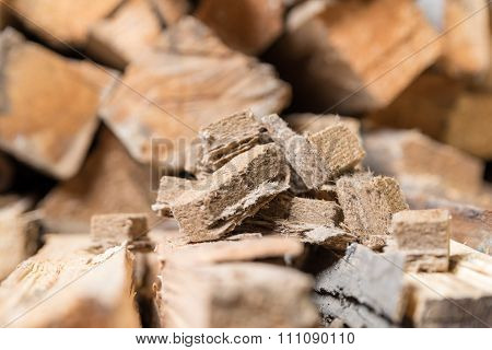Briquettes for firing, ignition
