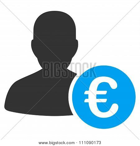 Euro Banker Icon