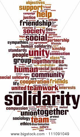 Solidarity Word Cloud