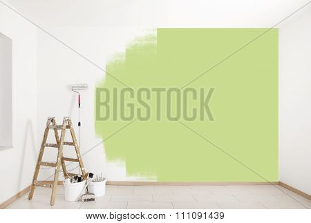 Paint Green Wall