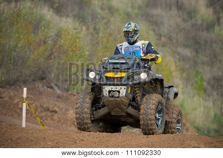 Moscow-october 10: Alexander Kuzmin 19 (quad Boom), Class
