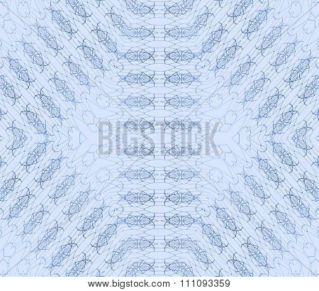 Seamless diamond pattern light blue