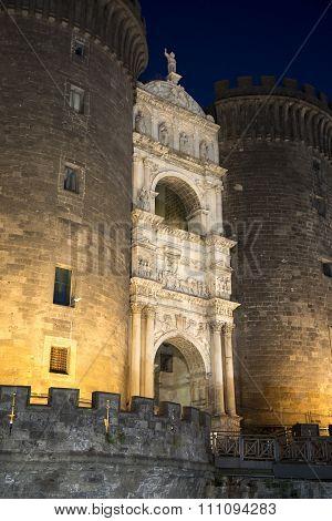 Naples, Italy: Maschio Angioino Castle