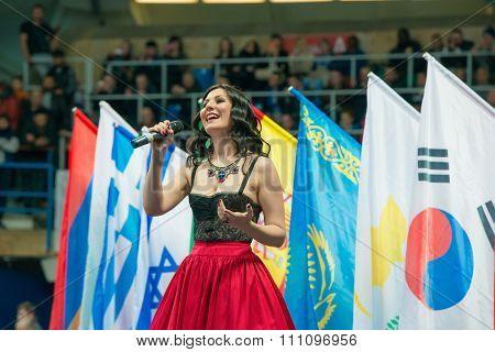 Honored Artist Of The Russian Federation Irina Savitskay