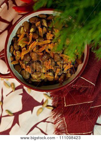 Georgian dish of beans