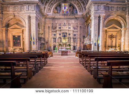 San Biagio Church In Montepulciano, Italy